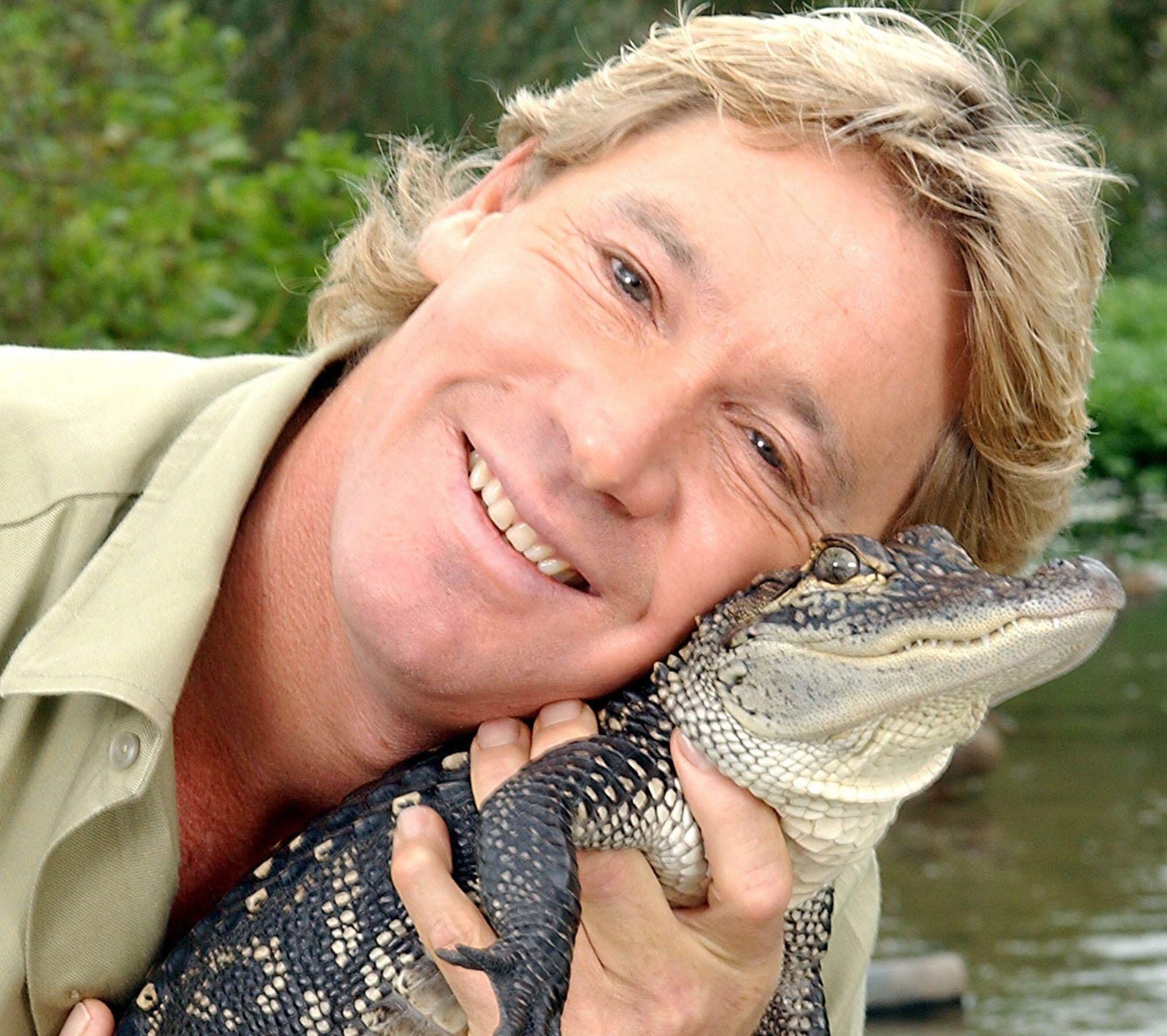 TV-KJENDIS: Steve Irwin døde 4. september 2006.