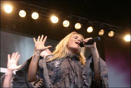 POPULÆR: Islandske Yohanna har reist rundt med VG-lista denne sommeren. Foto: Ida Anna Haugen