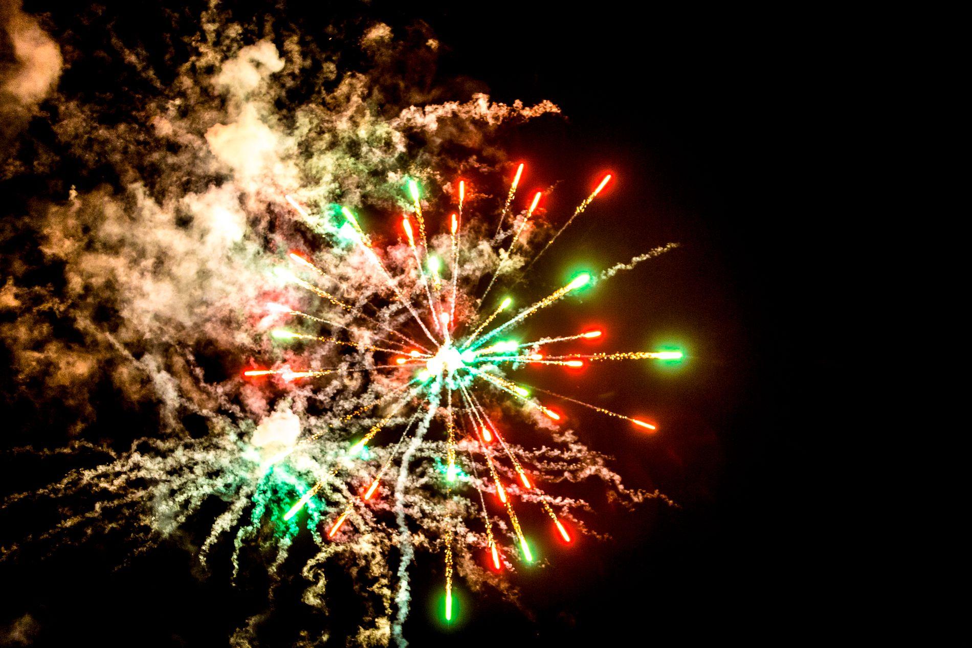AVLYST: Flere vestlendinger må ta farvel med 2018 uten det store smellet.