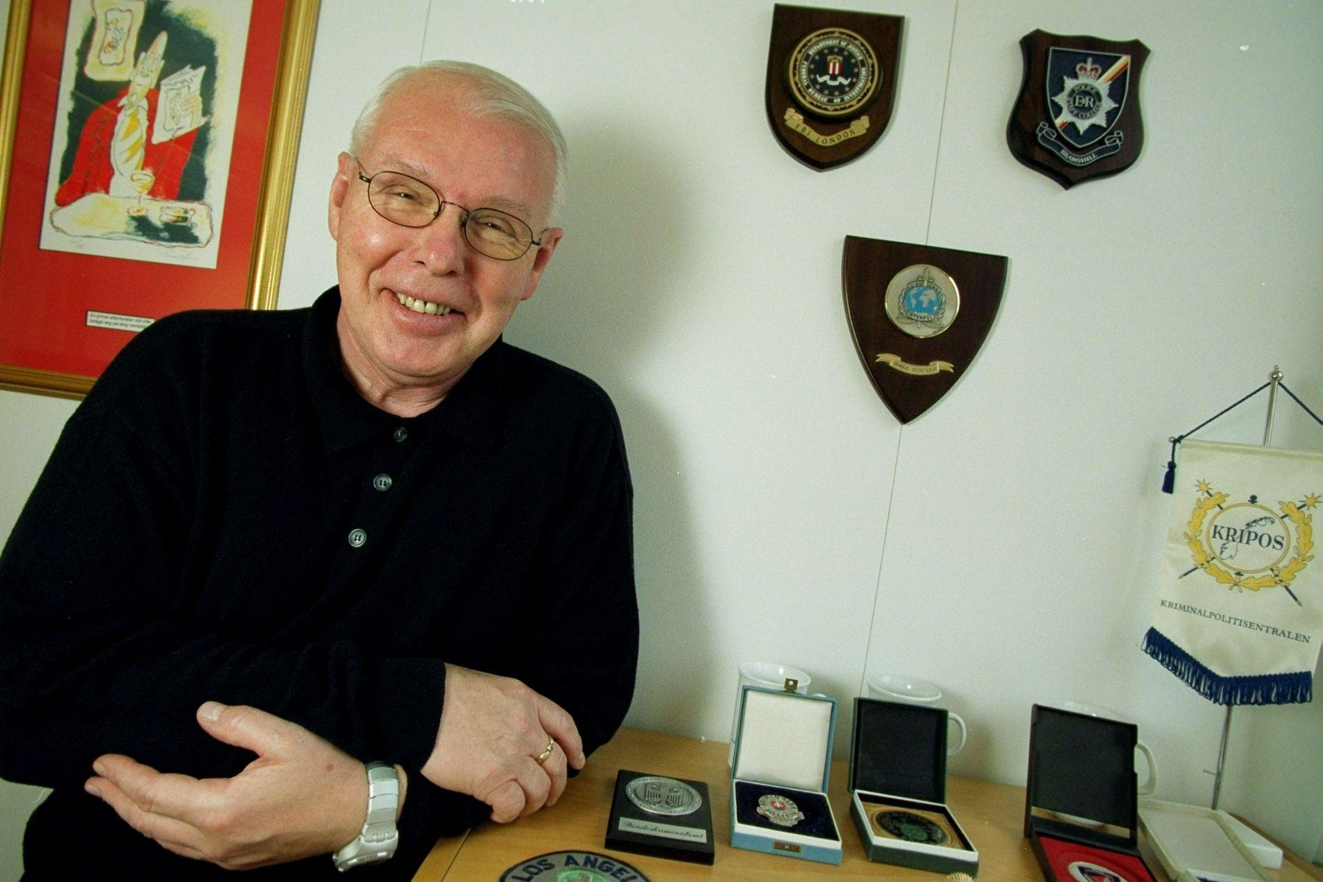 LEDET ETTERFORSKNINGEN: Leif A. Lier mener Oslo-politiet gjorde en kjempejobb med etterforskningen av attentatet mot William Nygaard.