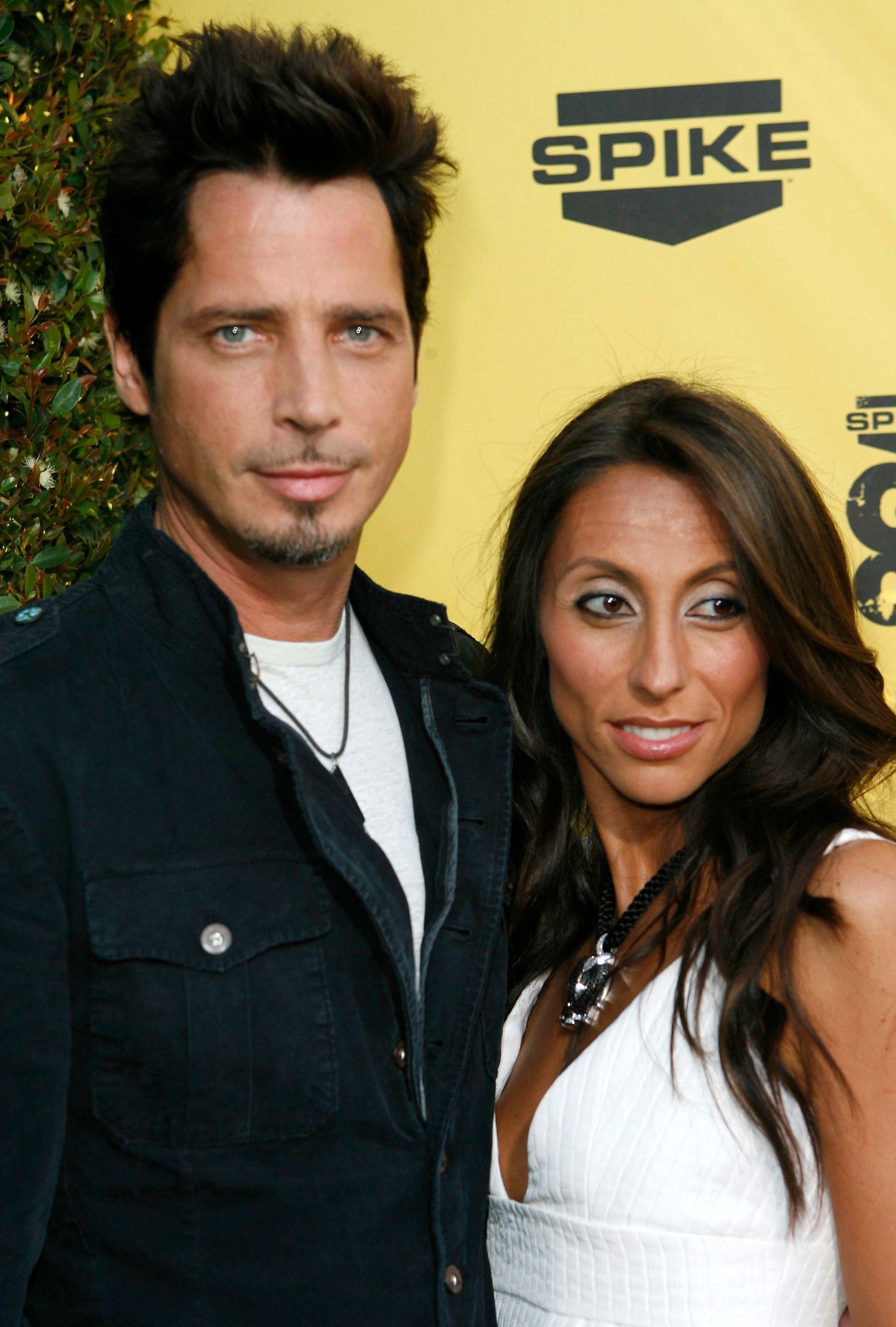 LENGE SAMMEN: Chris Cornell og Vicky Karayiannis var gift i 13 år og har to barn på 11 og 12 sammen. Her i 2007. Foto: REUTERS