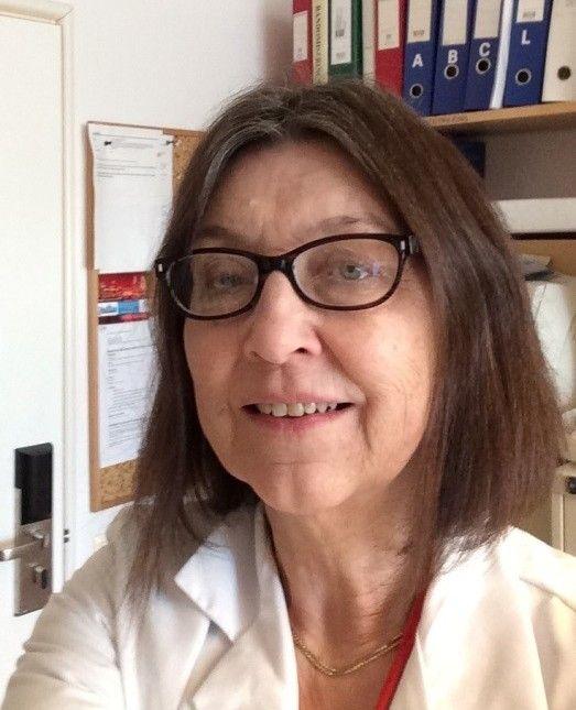 BEKYMRET: Overlege Eva Widing ved Rikshospitalet.
