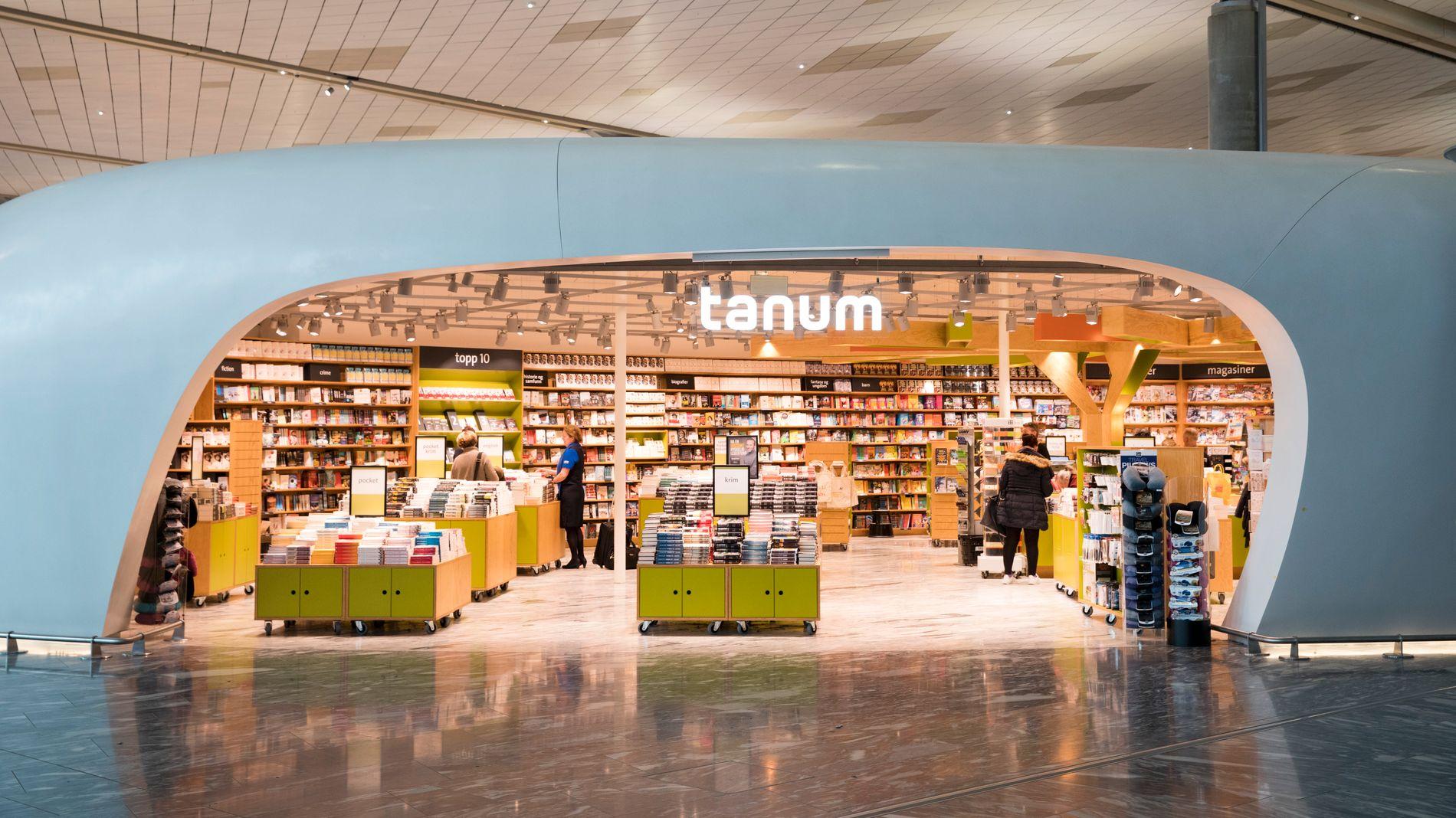 INGEN SUKSESSHISTORIE: Omsetningen på Tanums butikker på Oslo Lufthavn har ikke innfridd forventningene. Det påfører kjeden et betydelig tap.