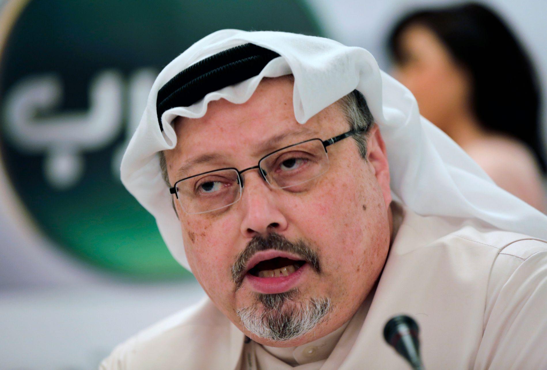 FORSVUNNET: Jamal Khashoggi kom aldri ut fra Saudi-Arabias konsulat i Istanbul, etter at han gikk inn dørene der 2. oktober.