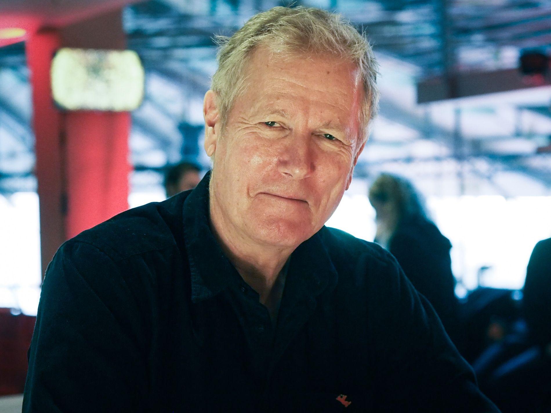 MØTTE PRESSEN: Regissør Hans Petter Moland møtte pressen i Berlin lørdag i forbindelse med premieren av «Ut og stjæle hester». Der fikk han blant annet spørsmål om uttalelsene til Liam Neeson.