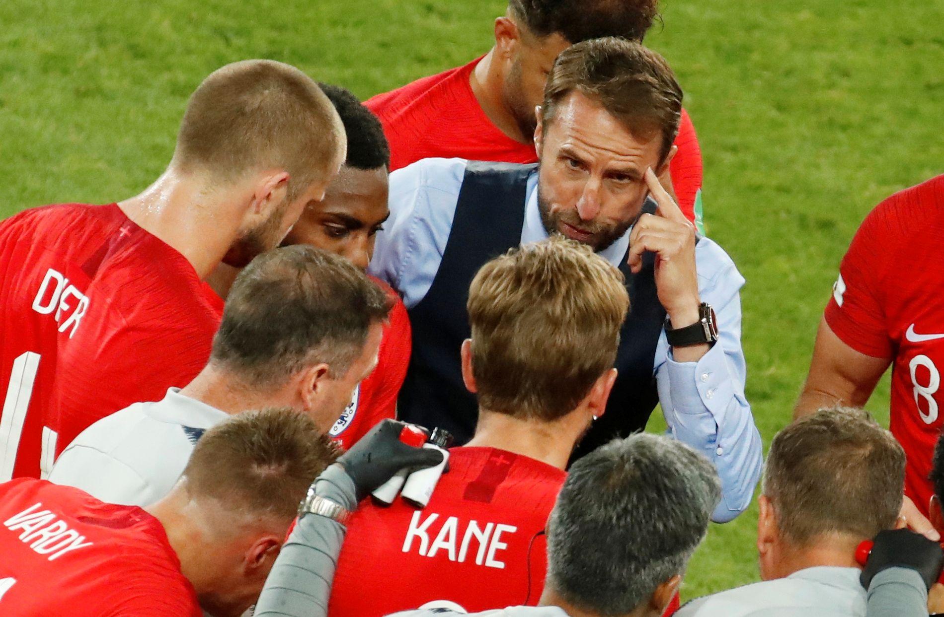 KVARTFINALE: England – stort sett et kult lag, en kul trener, ganske kul fotball. Håper de taper!