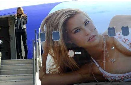 Tyskerne på flyflørt-toppen