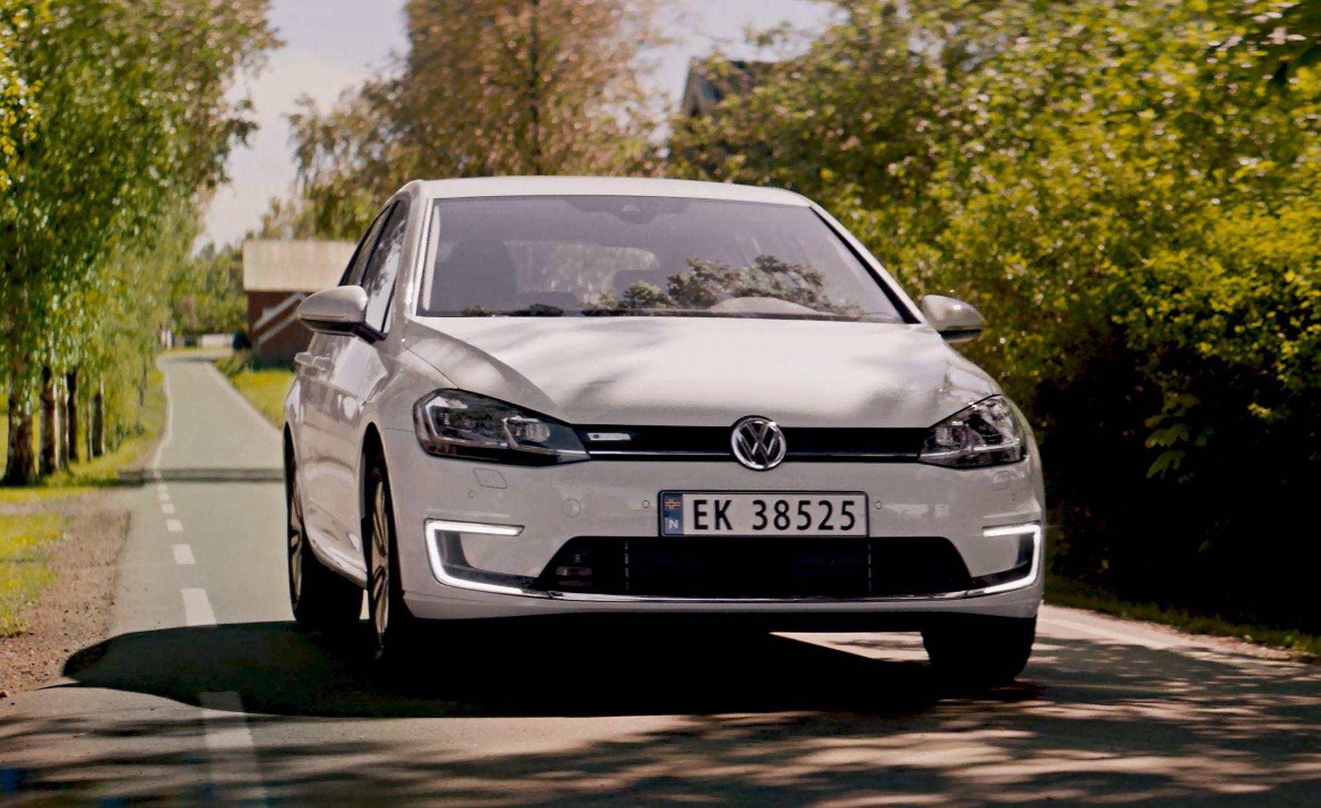 I FRONT Volkswagen e-Golf er nå Norges mest solgte elbil, i august og hittil i år.