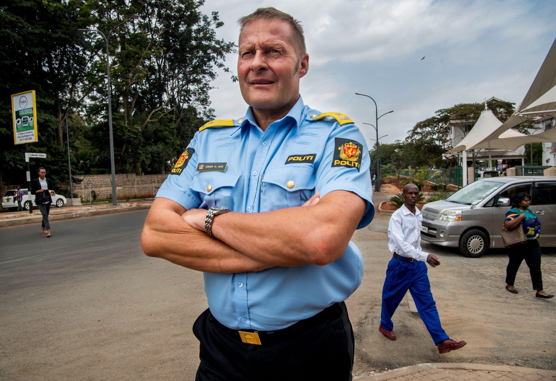 I NAIROBI: Einar Aas bor nå i Nairobi og jobber som rådgiver for Eastern African Standby Force, en regional politistyrke.