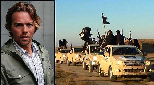 BETALTE TIL IS: Norske Jacob Wærness var sikkerhetssjef ved omstridte Lafarge Cement i Syria, og bekrefter at selskapet indirekte betalte penger til IS. Han har skrevet boken «Risikosjef i Syria» om det han opplevde ved fabrikken.