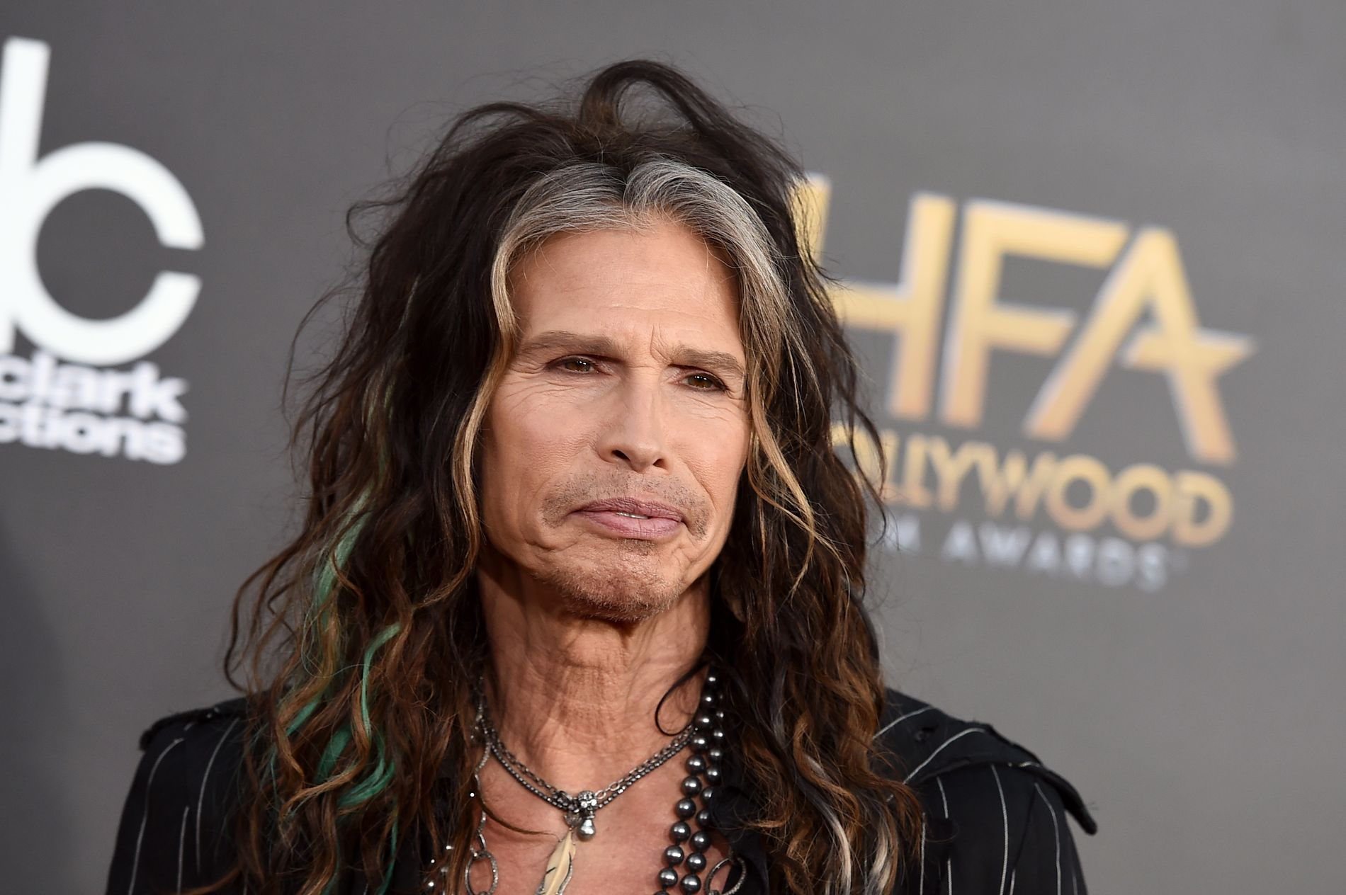 MUSIKERVETERAN: Steven Tyler, her under  Hollywood Film Awards i Los Angeles i 2014.