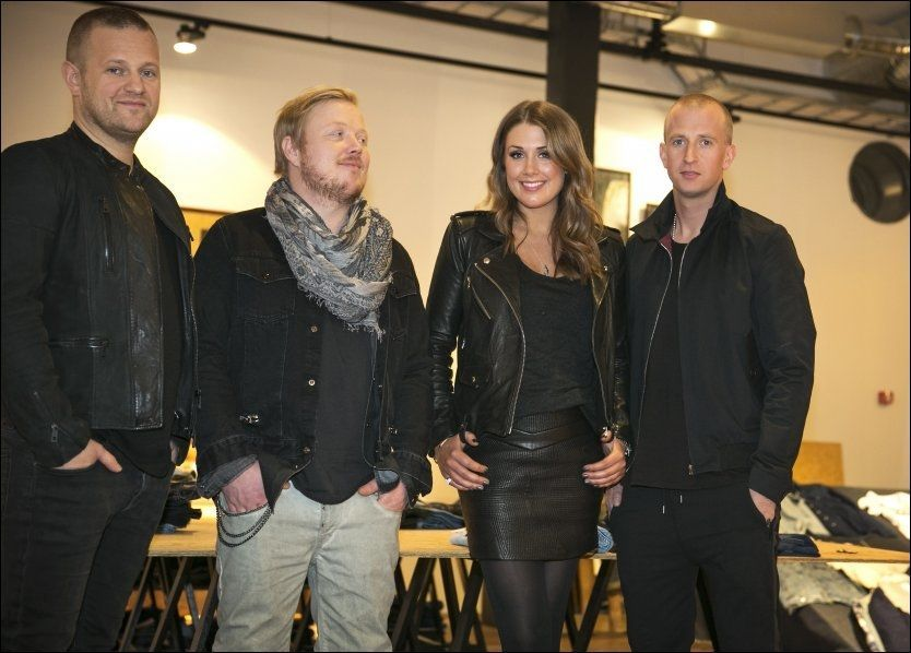 SAMME JURY SOM SIST: Esben «Dansken» Selvig (35), Kurt Nilsen (35), Tone Damli Aaberge (25) og Gunnar Greve (31) - tar fatt på nye «Idol»-auditionrunder den 12. april - på Tones 26-årsdag.