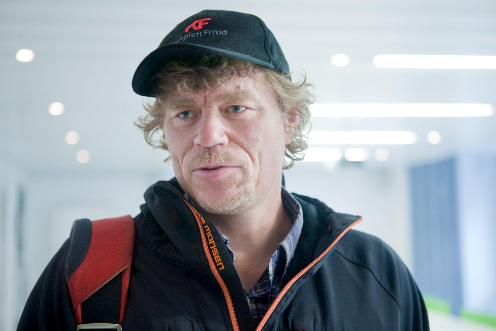 ÅPEN OM DRIKKING: Lars Monsen.