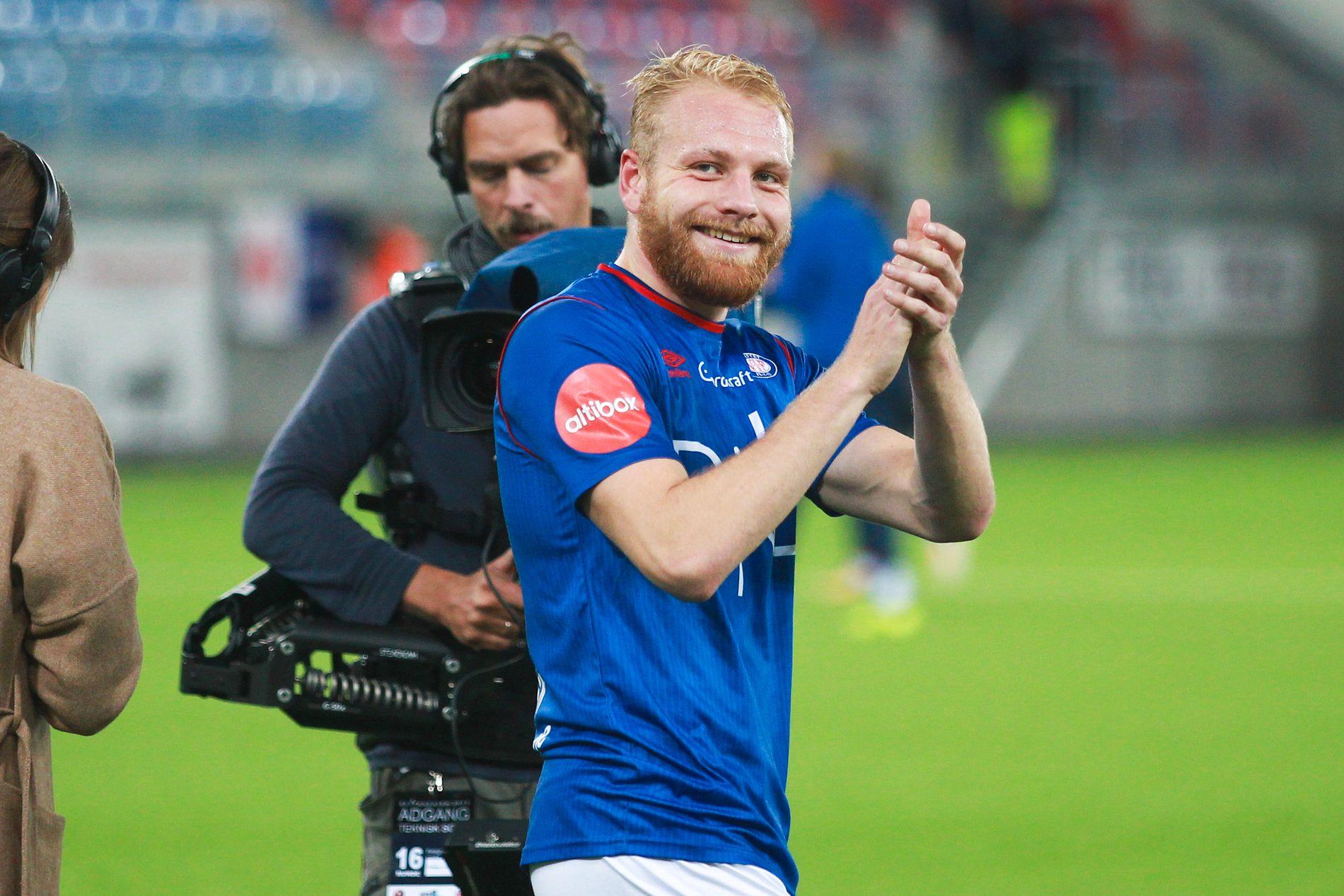 BRANN-AKTUELL: Vålerenga-spiss Henrik Kjelsrud Johansen.