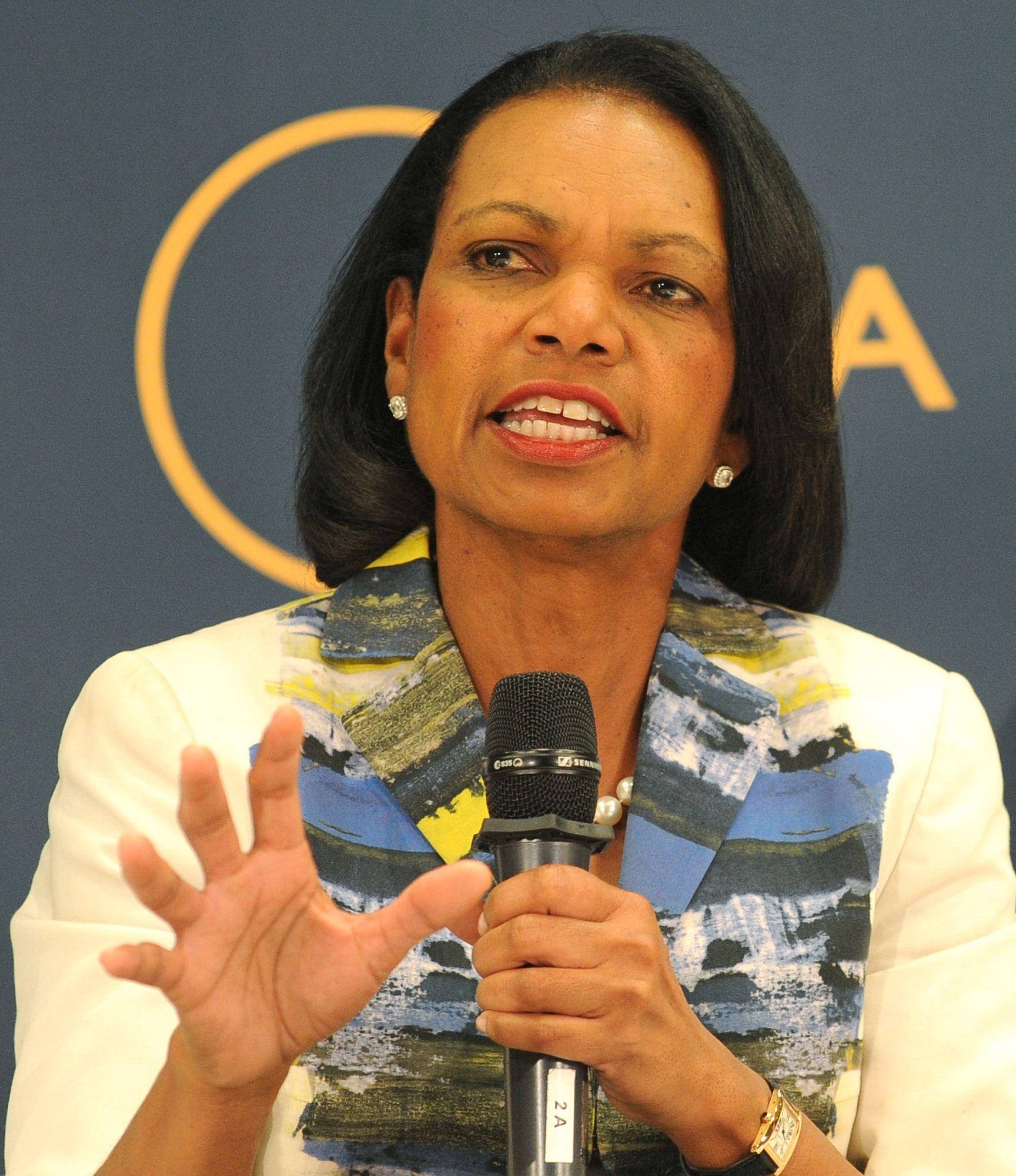 FIKK NOK: Tidligere utenriksminister Condoleezza Rice er blant de profilerte republikanerne som nå har trukket sin støtte til kandidat Trump. FOTO: AP Photo/Alik Keplicz