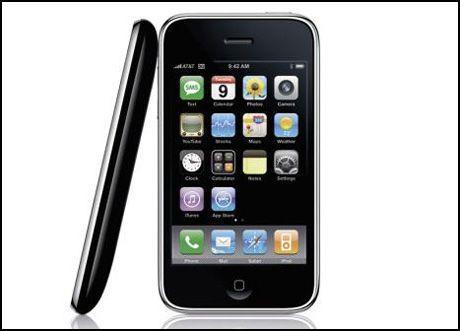 Virusangrep mot mobiltelefoner vil ifølge sikkerhetsbransjen bli mer utbredt i 2009. Foto: Apple