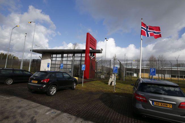 HOVEDPORTEN: Slik ser det nederlandske fengselet Norgerhaven ut fra utsiden.