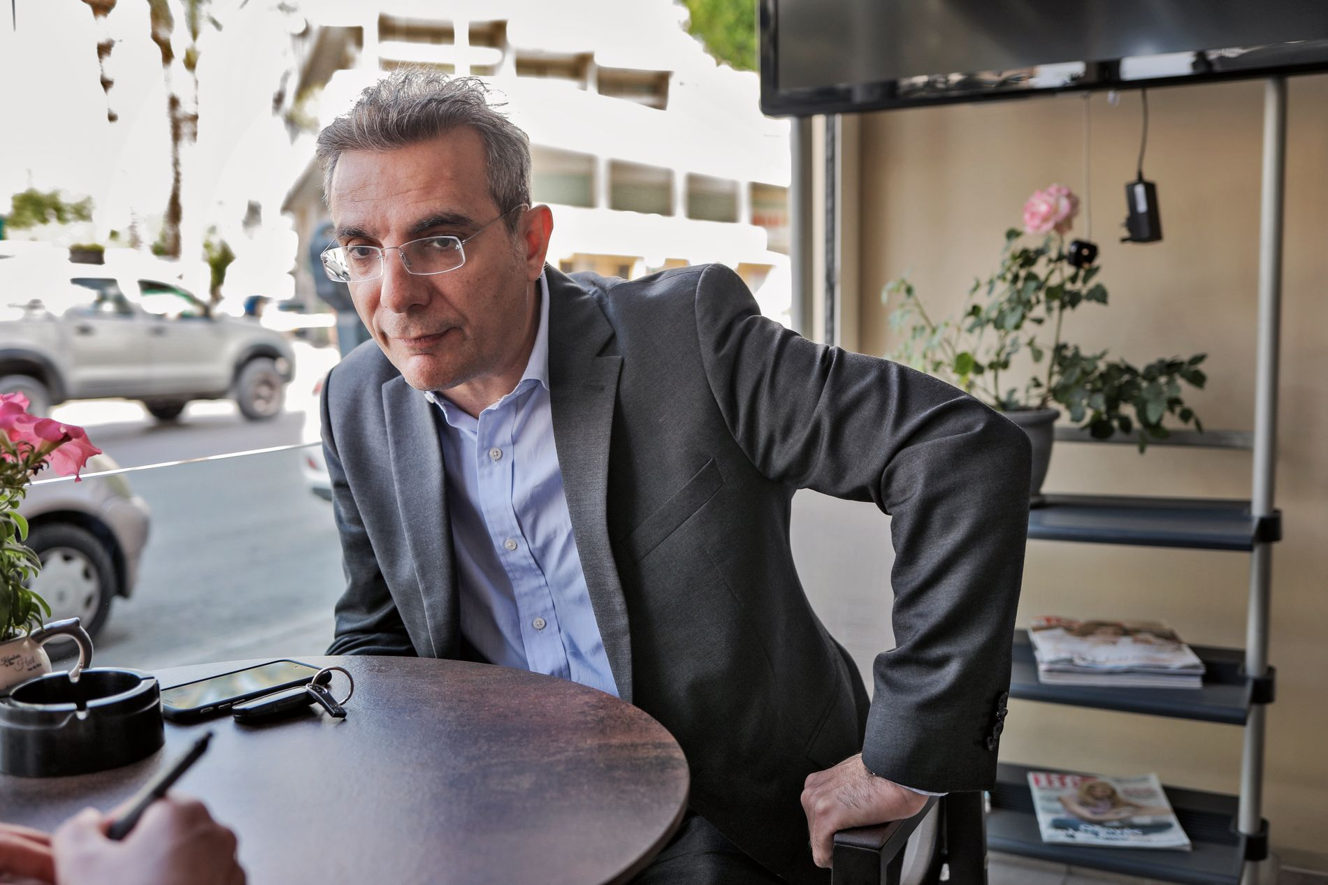 AVVISER ANKLAGENE: Laris Vrahimis er advokat for moren til den bortførte treåringen. Han reagerer på Mette Yvonne Larsens påstander om at kypriotisk rettsvesen er upålitelig. Foto: JØRGEN BRAASTAD, VG