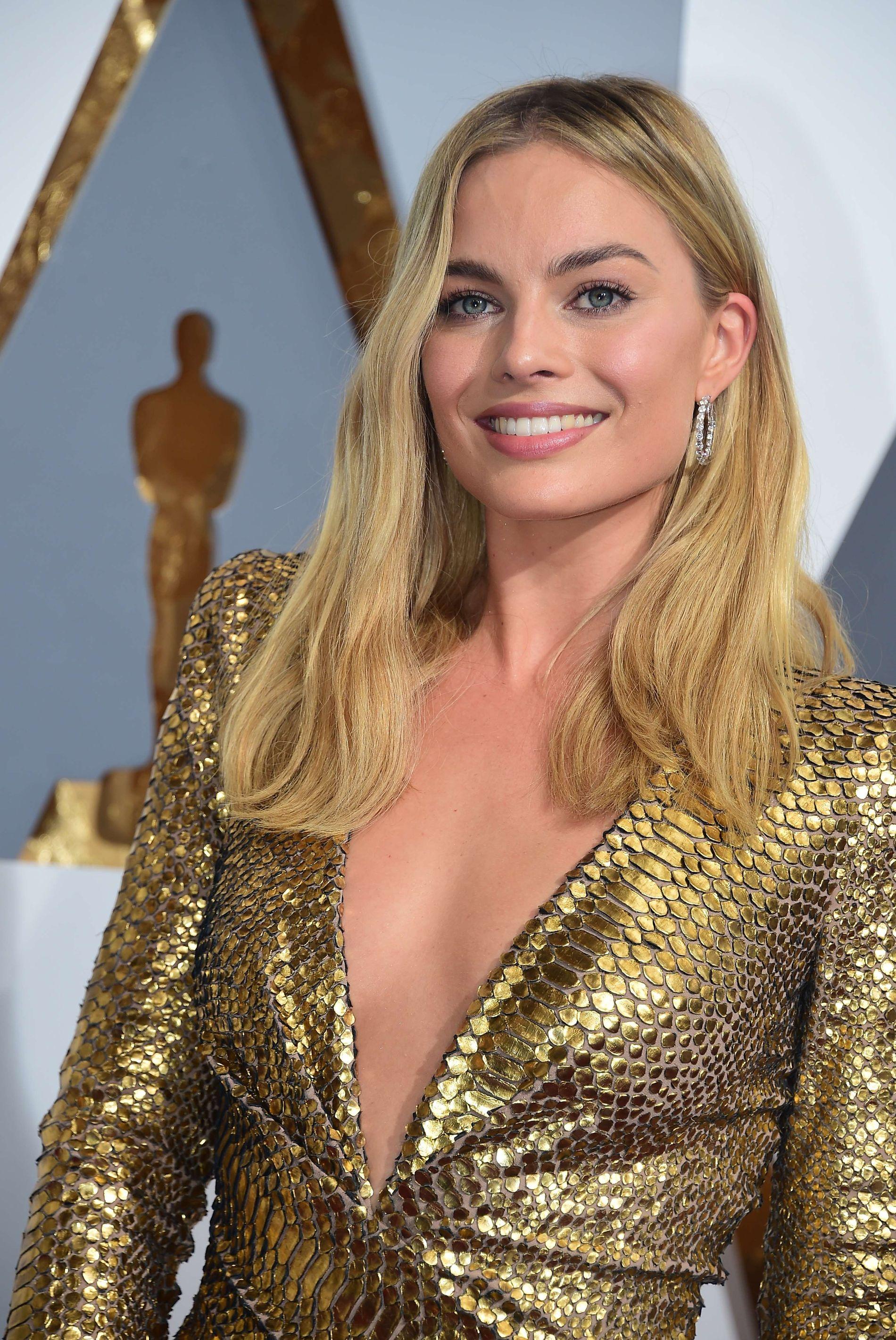 FIKK ROLLEN: Margot Robbie, her på Oscar i februar.