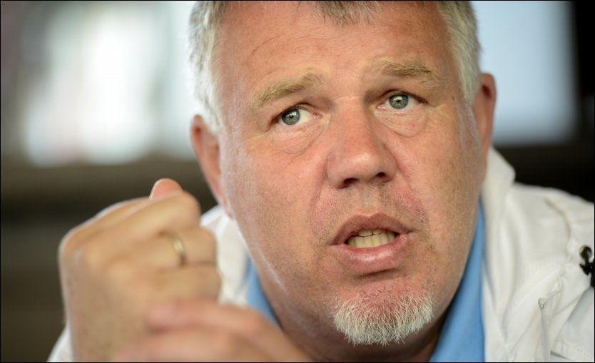 OPPKLARENEDE: Kjetil Siems (på bildet) møte med Egil Drillo Olsen i dag gjorde godt, ifølge han selv. Nå håper Siem at saken roer seg. Foto: ROBERT S. EIK/VG