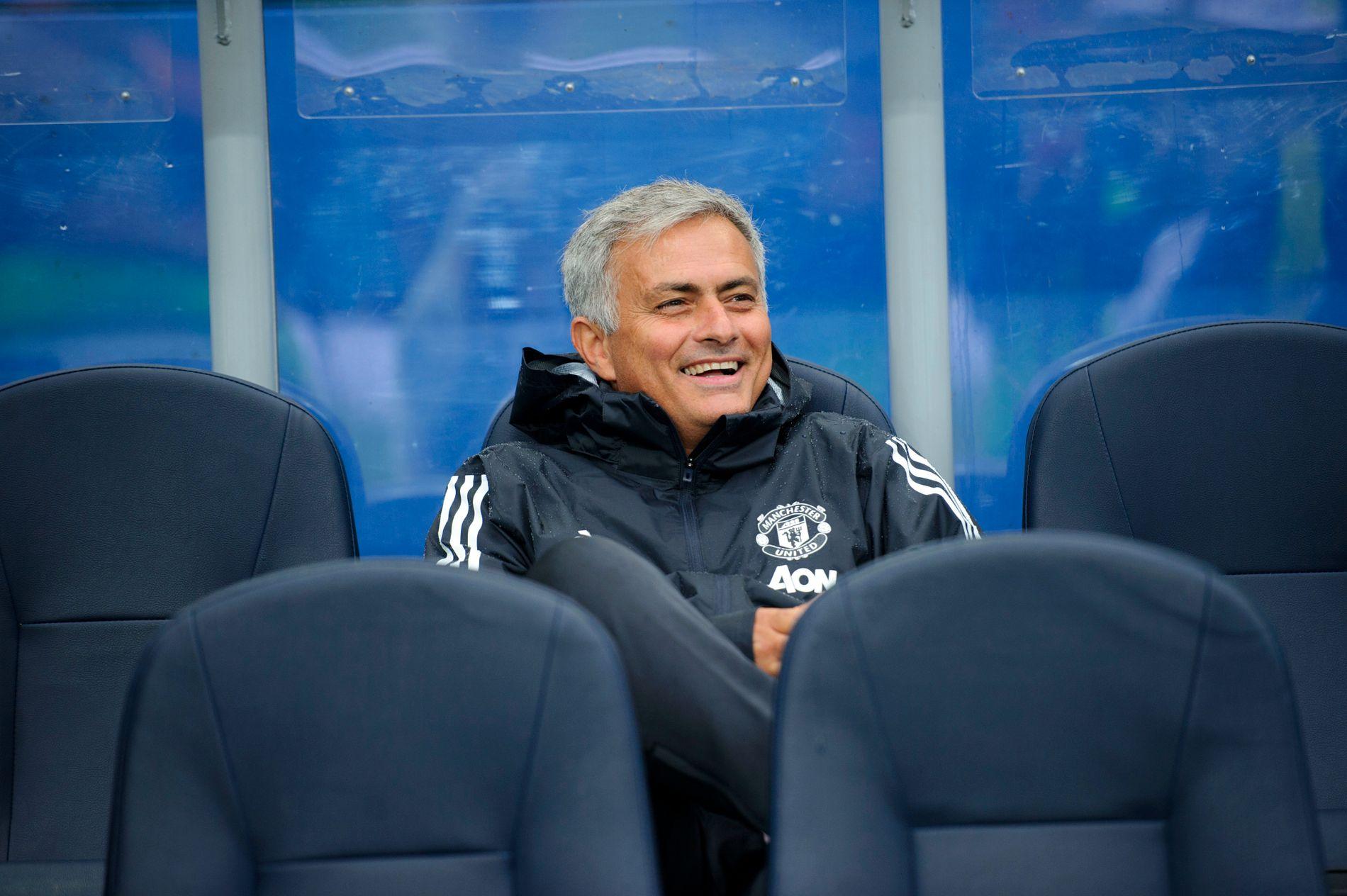 EKSPERT: José Mourinho er nå fotballekspert for beIN SPORTS. Her fra en treningskamp mot Vålerenga i 2017.