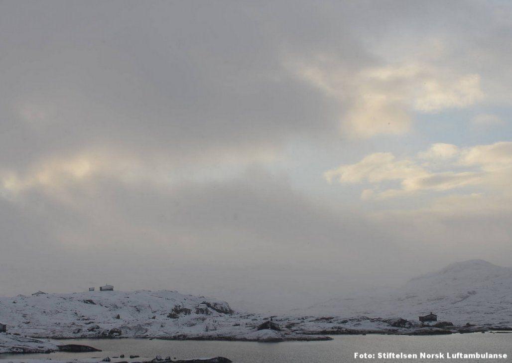 HVITT: På Finse har snøen allerede kommet, noe den også er ventet å gjøre mange andre steder i fjellet.