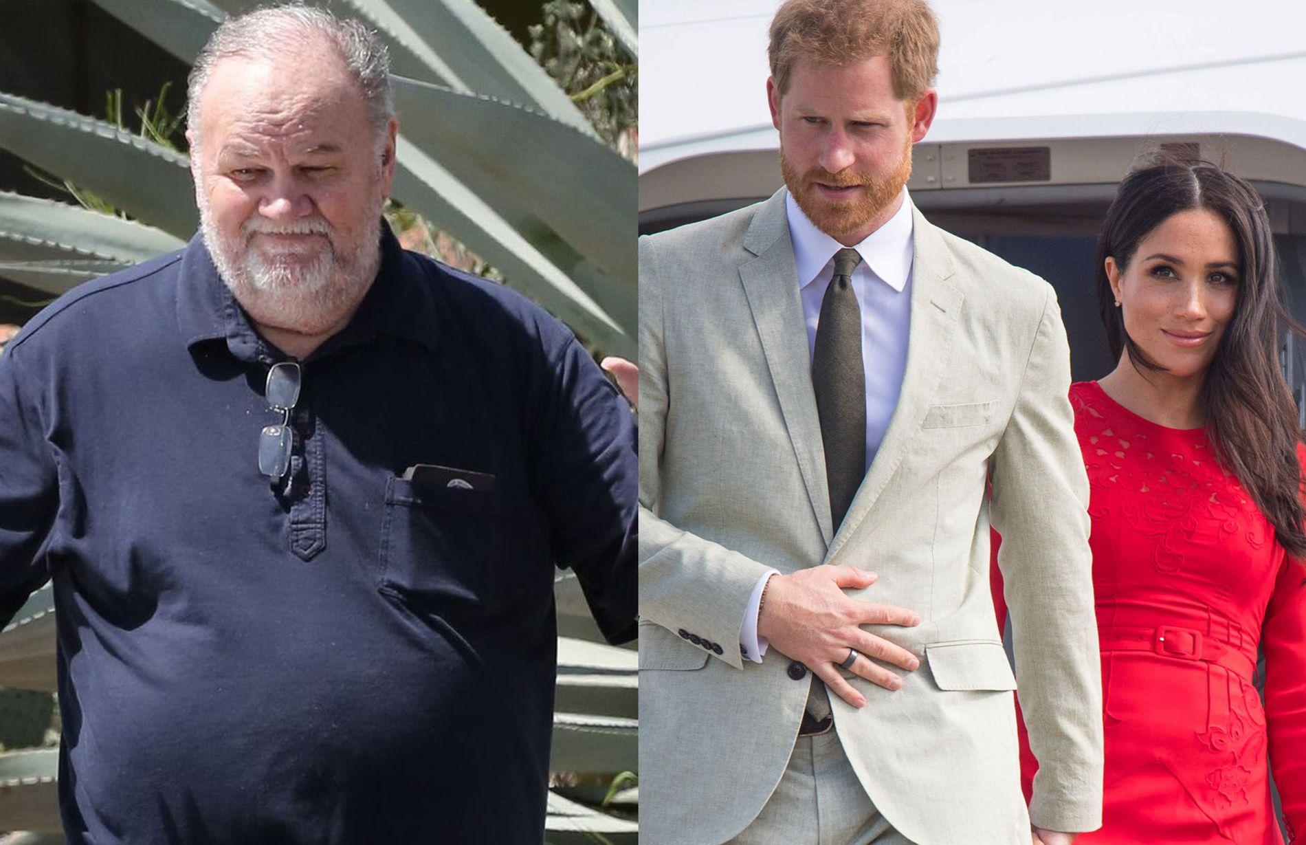 ISFRONT: Thoma Markle har ikke sett datteren sin Meghan siden hun giftet seg med prins Harry i mai.