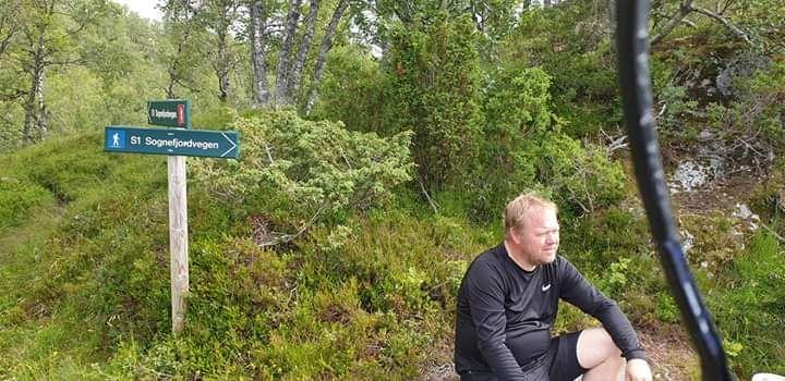 FRILUFTSMANN: Bjørn Ove Steig var glad i naturen. Her avbildet på en av de siste turene før han falt over bord i Dalsfjorden forrige uke.