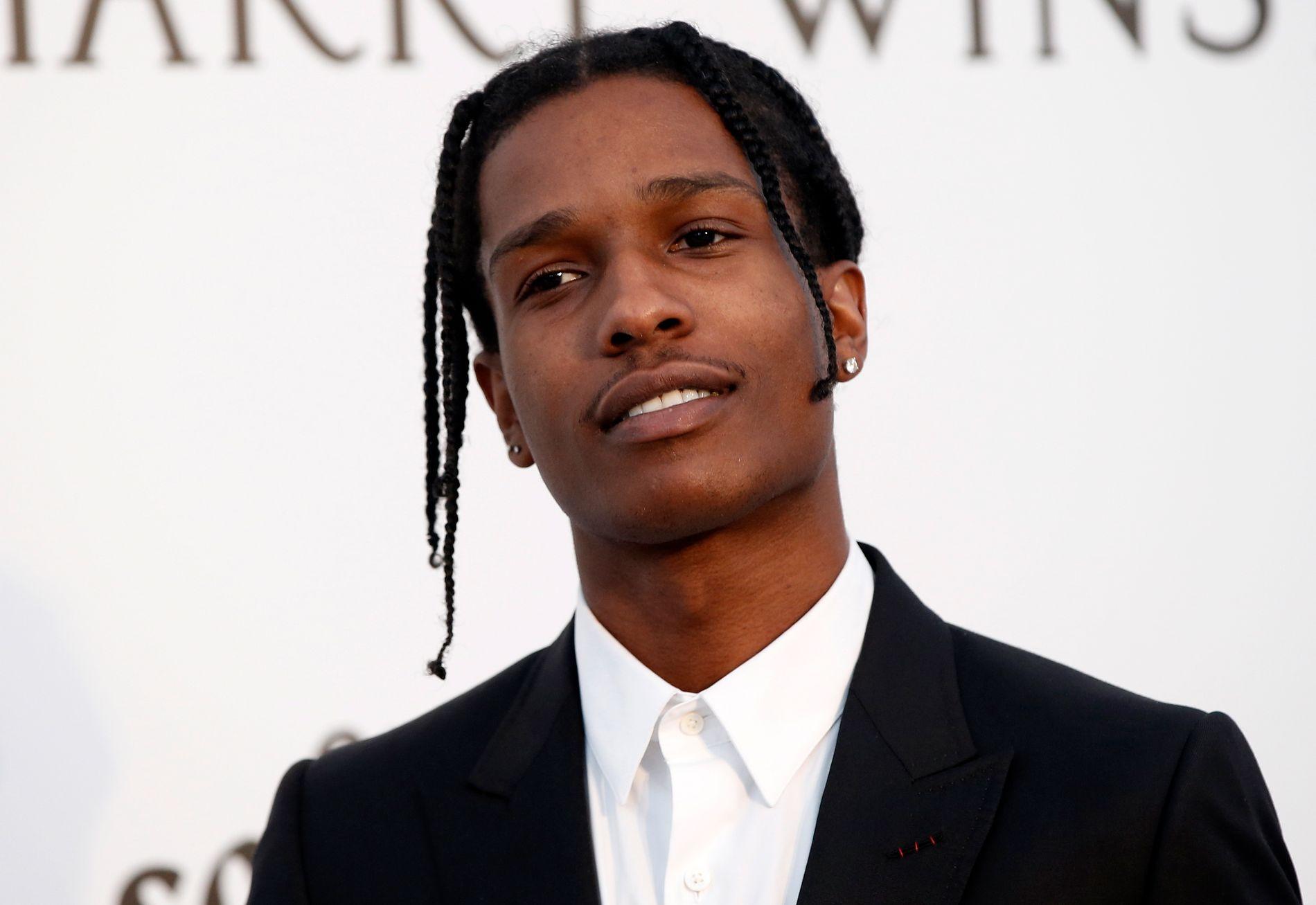 DØMT: A$AP Rocky ble forrige uke dømt til betinget fengsel.