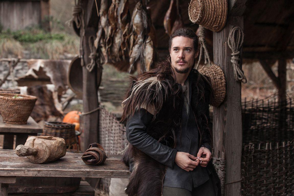 HOVEDROLLE: Alexander Dreymon som Uhtred i «The Last Kingdom».