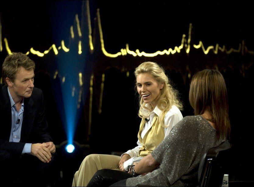 SKAPTE TRØBBEL:Paul Anka skal ikke ha likt at Anna Anka var på besøk i talkshowet til Fredrik Skavlan. Foto: Scanpix
