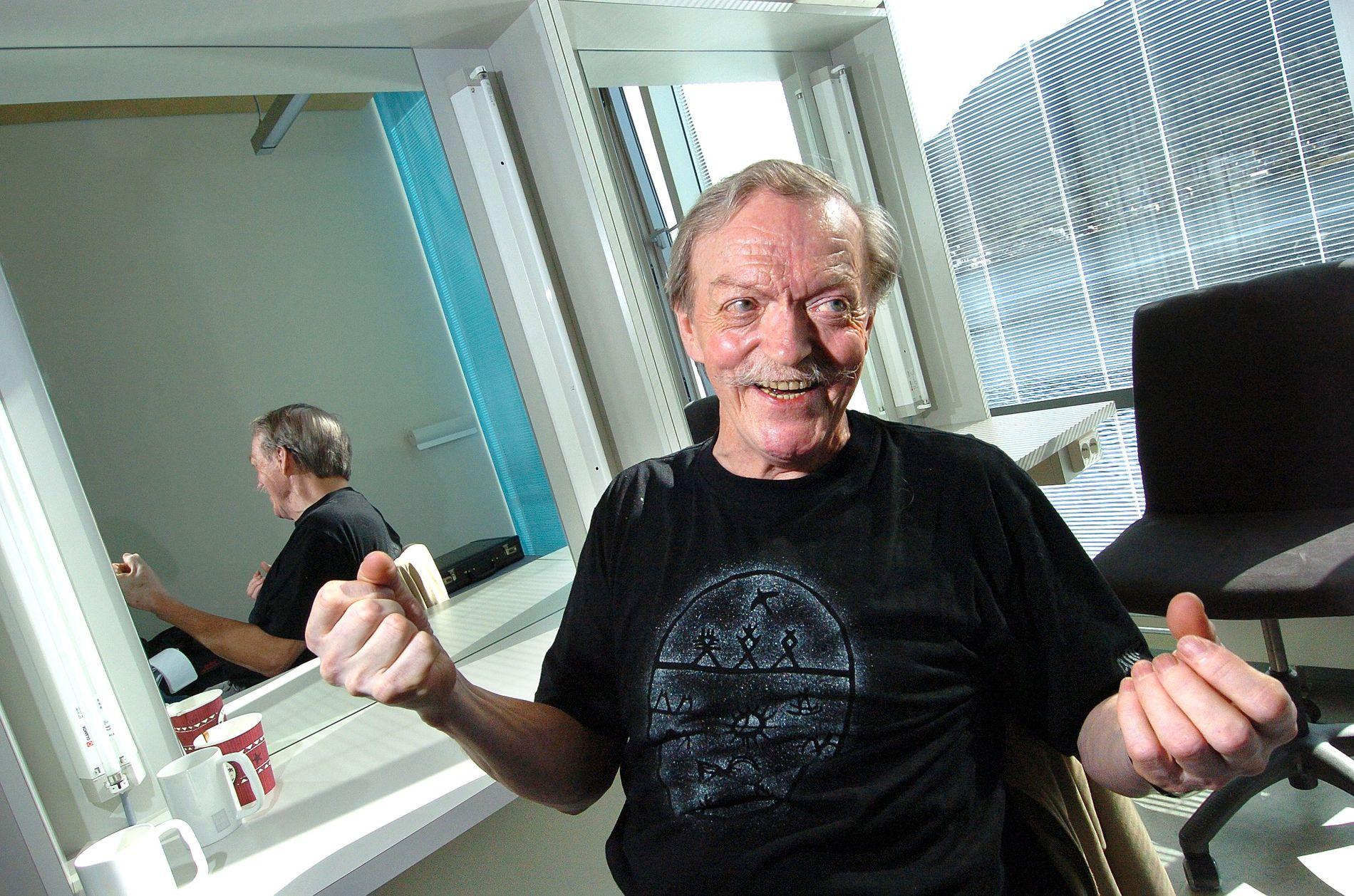 VIKTIG PERSON: – Jeg har bare fine minner knyttet til Nils Reidar Utsi. Han var en viktig person for meg, sier Sverre Porsanger om mannen som var som en far for ham.