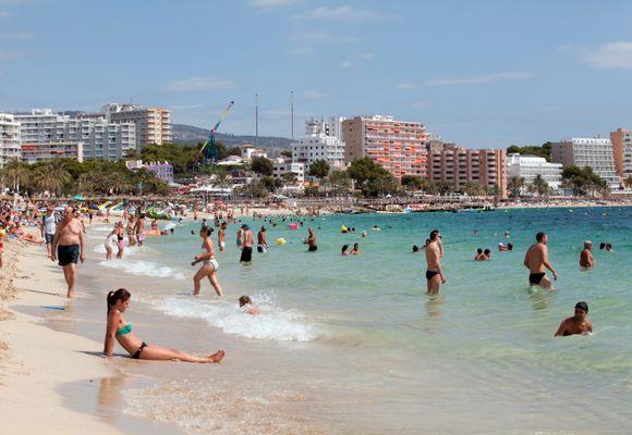 Rekordfall i turismen til Spania