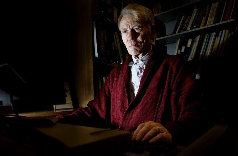 BILDETRID: Professor Ingolf Hådem var sakkyndig under Tre-holt-saken. Han sår nå tvil om bildebeviset til PST. Foto: Øyvind Nordahl-Næss
