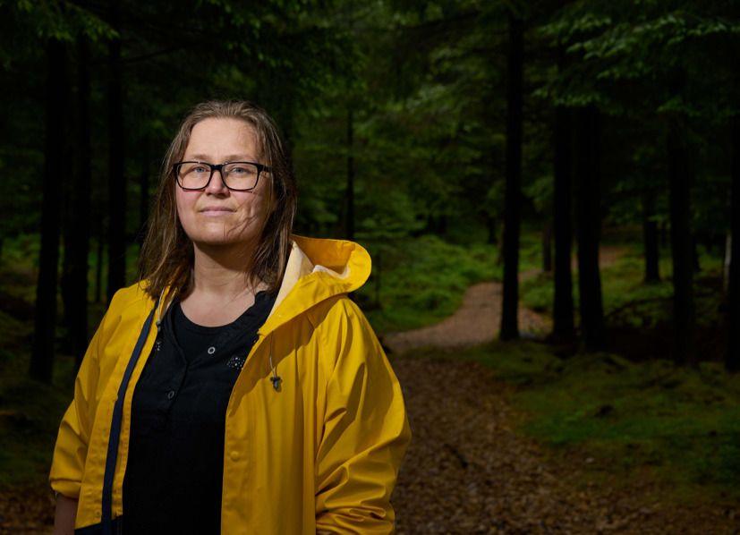 ÅRETS ROMAN: Olaug Nilssen vant tirsdag kveld den prestisjefulle Brageprisen for romanen «Tung tids tale» - der hun skriver å være foreldre til et autistisk barn.