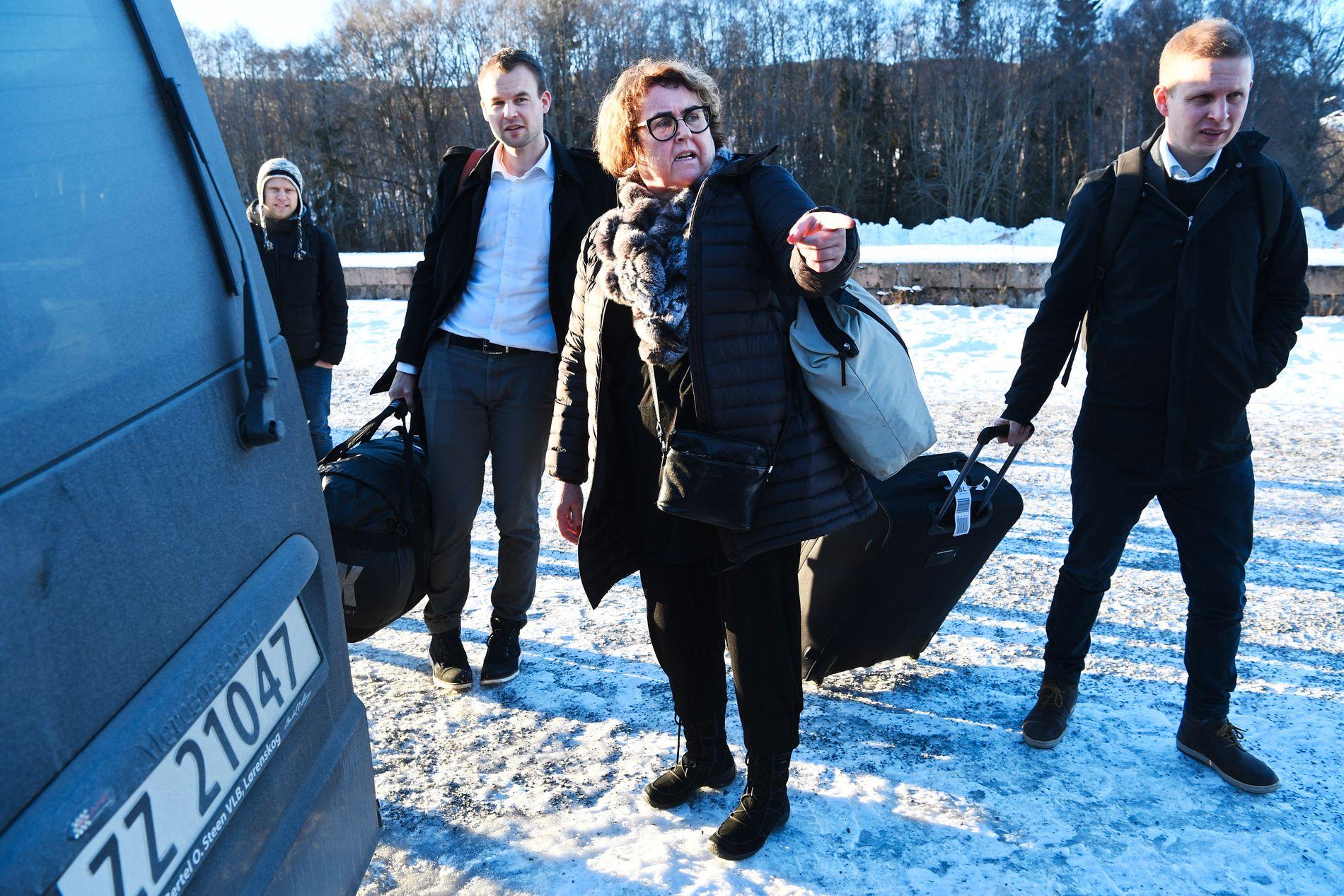 IKKE FOR EN HVER PRIS: KrF-nestleder Kjell Ingolf Ropstad vil inn i regjering – men kun hvis partiet får gjennomslag for viktige saker. Her sammen med nestleder Olaug Bollestad.