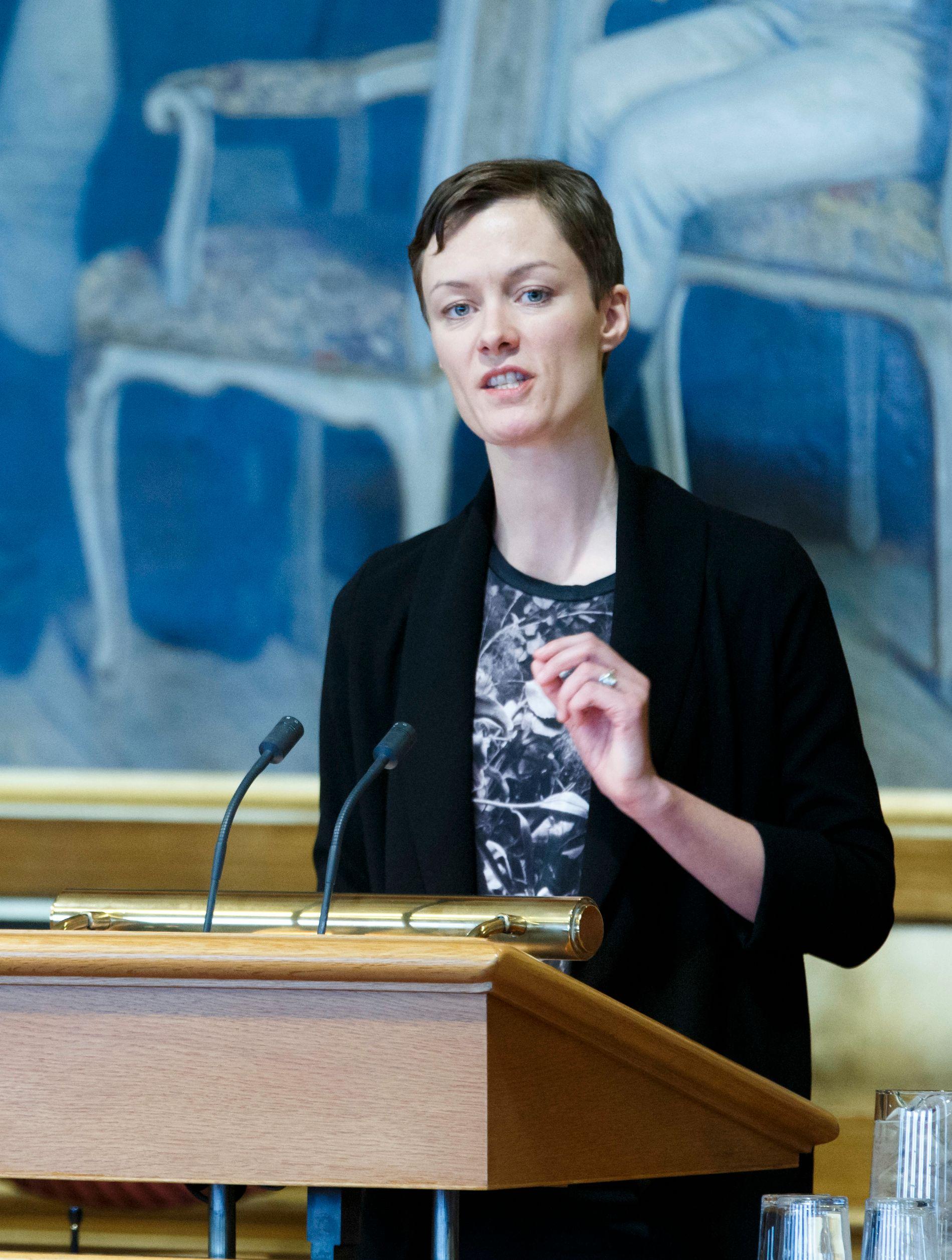 FORSTÅR NIF-UTSPILLET: Arbeiderpartiets Anette Trettebergstuen.