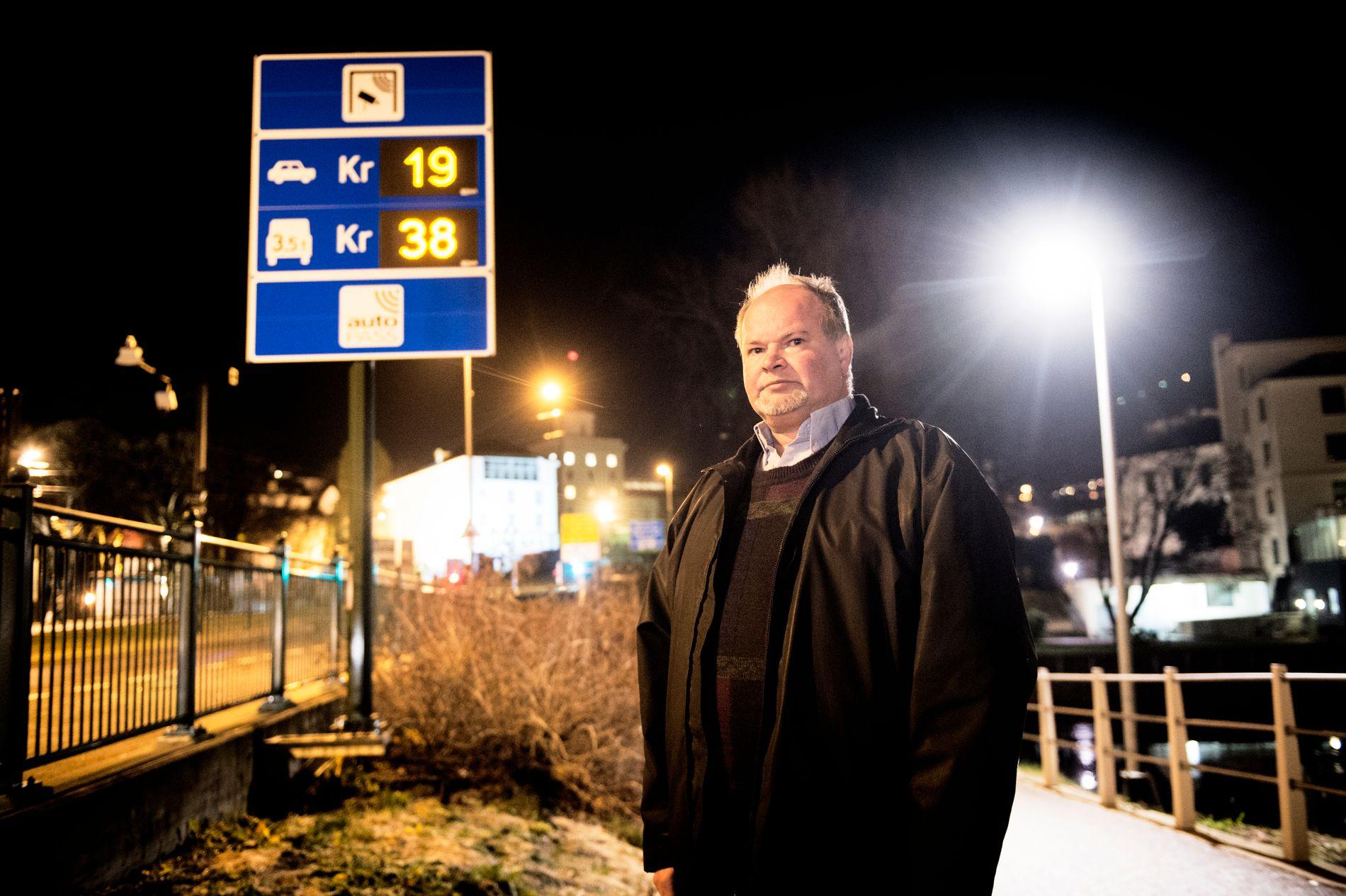 KAN BESTEMME: Trym Aafløy, førstekandidat for Folkeaksjonen nei til mer bompenger i i Bergen.