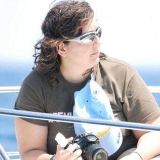 SKAL SNART SVØMME IGJEN: Cristina Ojeda-Thies har ikke blitt redd etter haiangrepet.