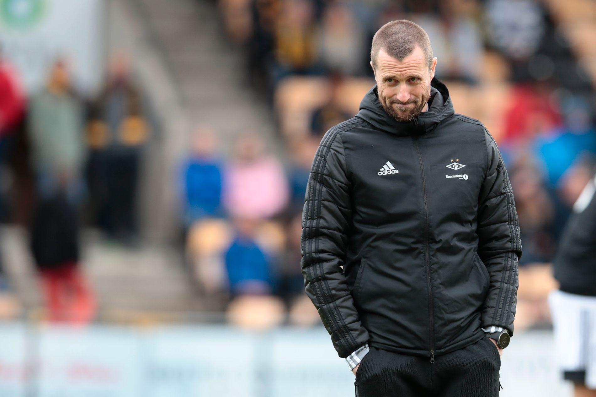 MELLOMFORNØYD: RBK-trener Eirik Horneland etter 1–1 mot Lillestrøm.