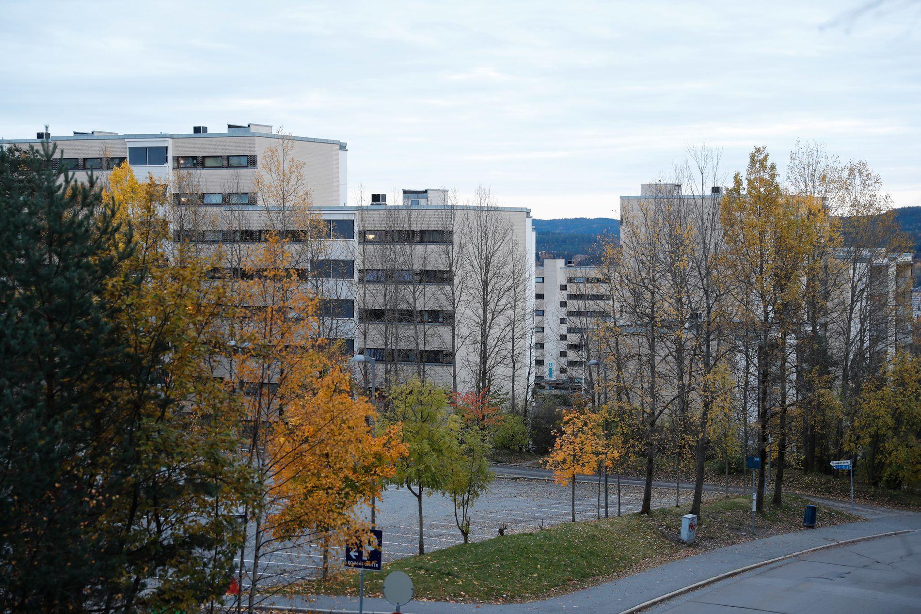 MANGE SPØRSMÅL: Her i drabantbyen Romsås nordøst i Oslo ble tre kvinner – en mor og to voksne døtre – funnet døde torsdag i forrige uke. Nå forsøker politiet å finne ut hvorfor.