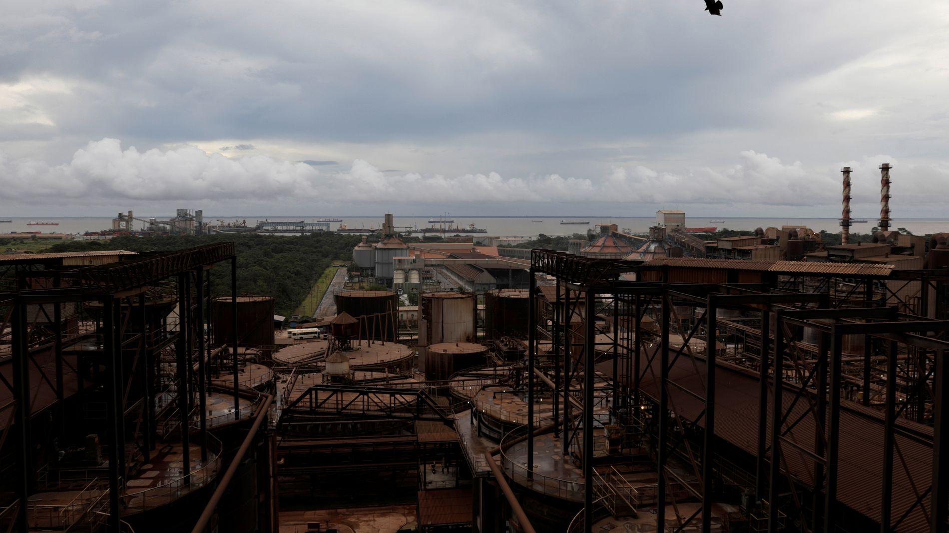 VERDENS STØRSTE: Aluminaraffineriet Alunorte i Barcarena nord i Brasil er eid av Norsk Hydro.