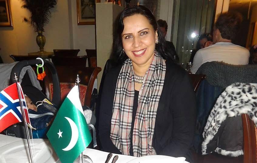 PIONER-POLITIKER: Afshan Rafiq var Norges første stortingsrepresentant med ikke-vestlig bakgrunn. Hun har også brukt mye tid på å styrke forholdet mellom Norge og Pakistan.