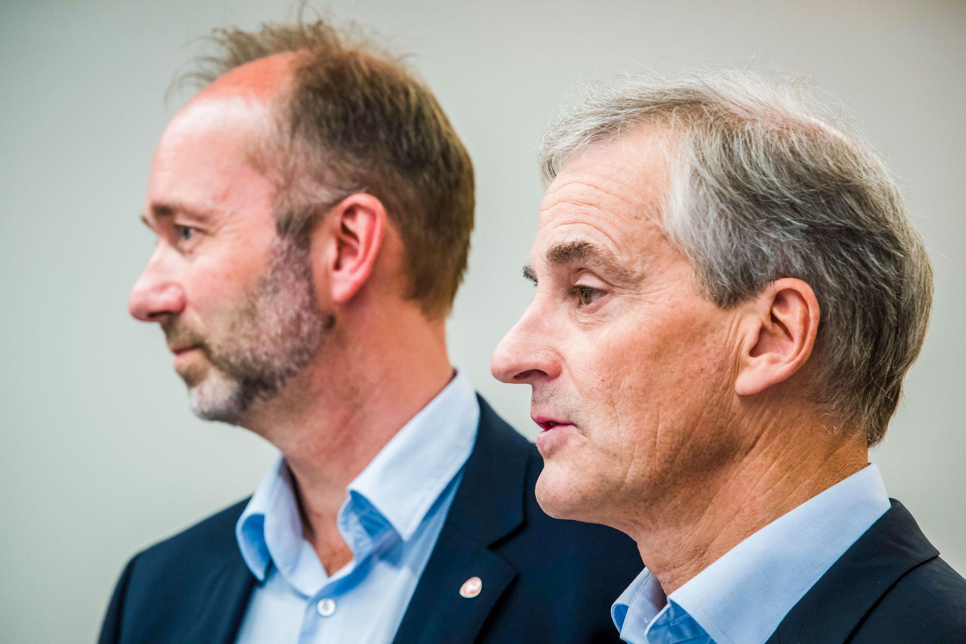 BREV: Ap-leder Jonas Gahr Støre har skrevet brev til Trond Giske.