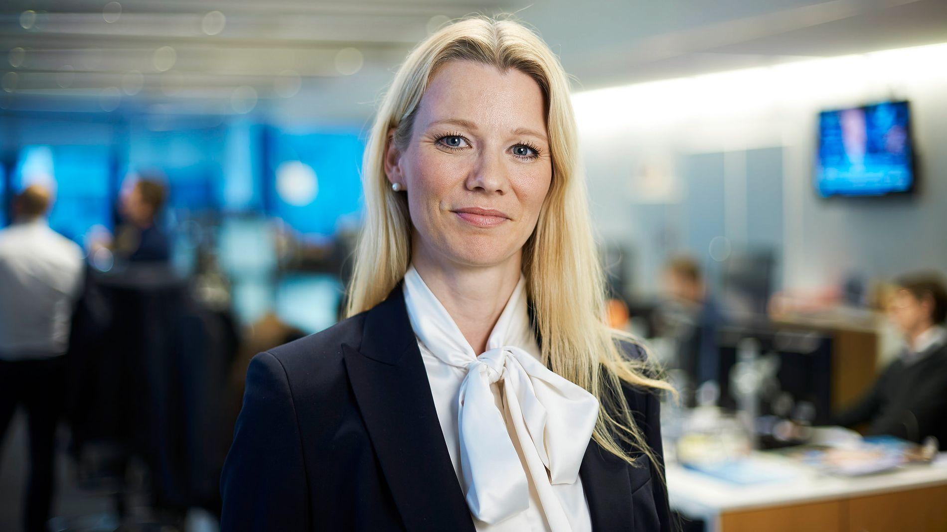 TROR RENTETOPPEN ER NÅDD: Sjeføkonom Kari Due-Andresen i Handelsbanken Capital Markets.