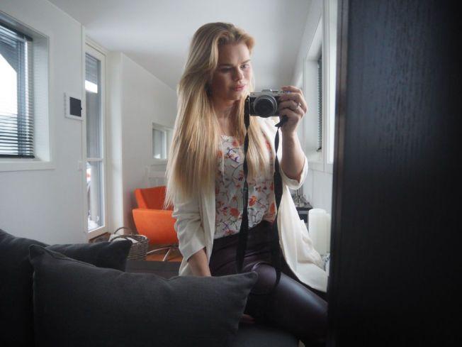 BLOGGET OM ABORT: Julianne Nilsen har skrevet om sin abort som 20-åring på bloggen sin. Foto: Pilotfrue.blogg.no