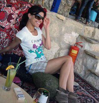 28 år gamle Galina Sandeva var fra Bulgiaria. Det er ikke kjent når dette bildet er tatt.
