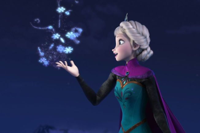 VIL IKKE GI SLIPP: En av de mest populære låtene fra filmen «Frost» er «Let it Go», eller som den heter på norsk «La den gå».
