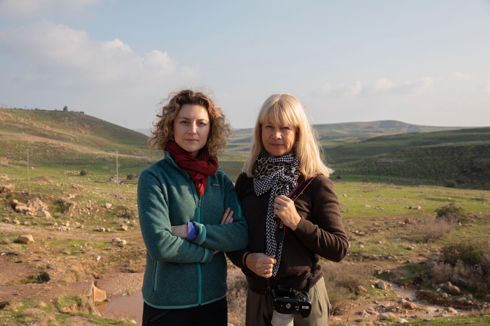 VG I IRAK/KURDISTAN: Midtøsten-korrespondent Ingeborg Huse Amundsen og fotograf Janne Møller-Hansen.