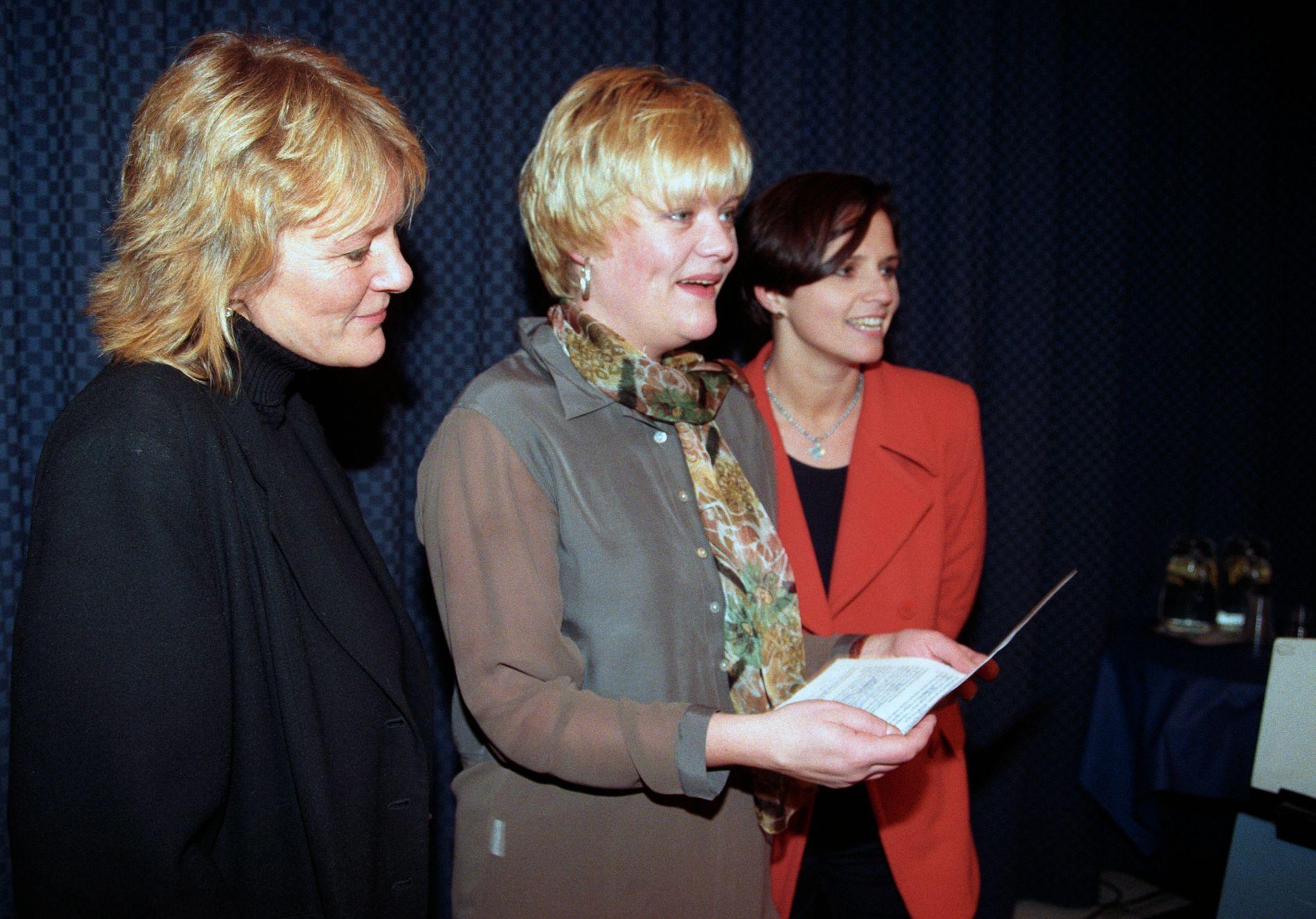 DE TRE K-ENE:  Kristin Clemet, Kristin Halvorsen og Kristin Aase ga ut en debattbok om abort og sorteringssamfunnet i 1996.  Det ga ny giv til abortkampen.